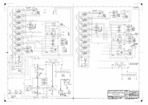 documento diagrama hidraulico de jumbo axera d06 sandvik
