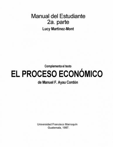 Proceso economico manuel ayau