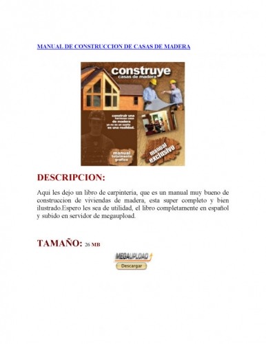 construccion de casas de madera. construccion de casas de