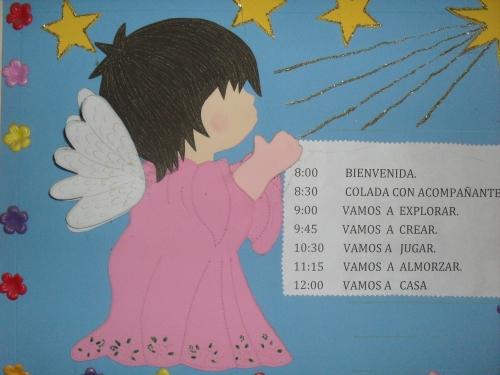 C 243 mo hacer un angelito con fomi imagui