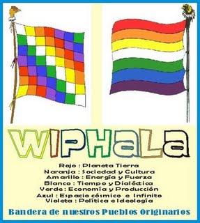 Bandera de nuestros pueblos originarios