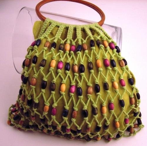 Imagenes de bolsos en macrame - Imagui