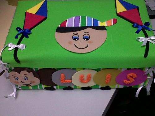 Imagen Caja decorada en foami - grupos.emagister.com
