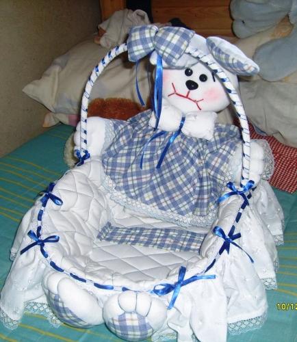 Canastilla para beb s manualidades imagui - Canastillas para bebes ...