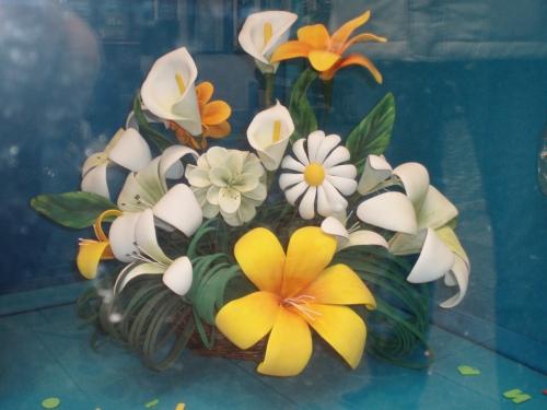 Patrones para flores de goma eva imagui - Flor de goma eva ...