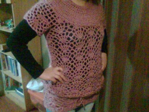 Chaleco crochet niña - Imagui