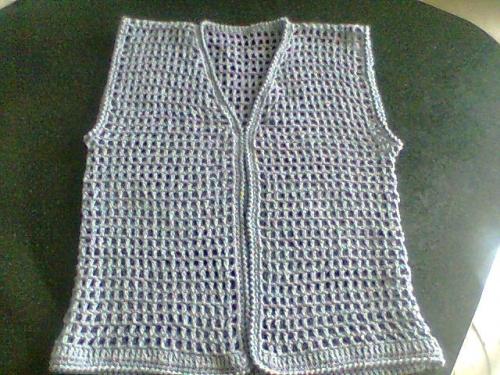 Chalecos de crochet gratis - Imagui