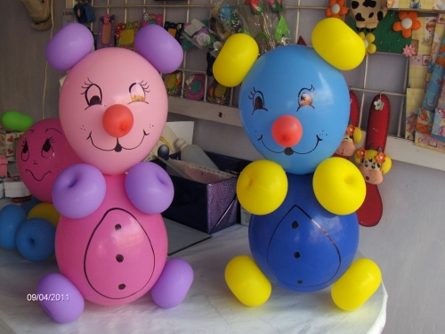 Imagen ositos en globos para fiestas for Globos para quinceaneras