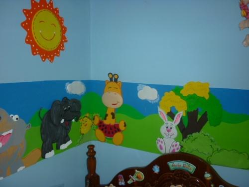 Decoración de cuartos para niña en foami - Imagui