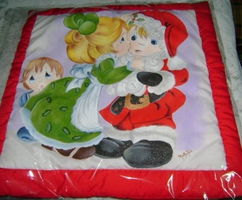 Cojin navideño