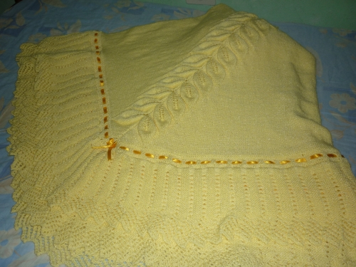 Colchas De Crochet Para Bebe