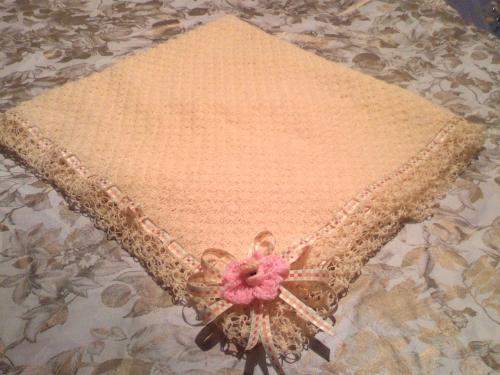 Colchitas para bebés a crochet - Imagui