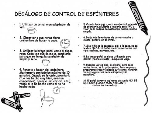 control de esf�nteres