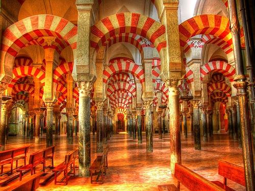 Imagen c rdoba espa a la mezquita catedral laberinto - Mezquita de cordoba de noche ...