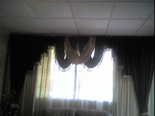 Imagen cortina con cenefas entrelazadas - grupos.