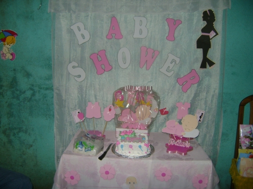 Baby shower decoracion sencilla baby shower decoraciones for Decoracion baby shower nina