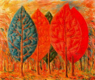 El incendio de Magritte