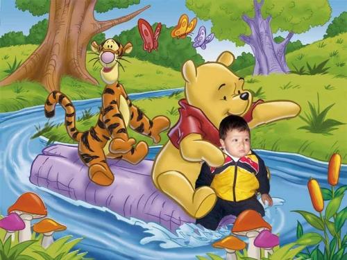 Descargar imagenes de Winnie Pooh bebé - Imagui