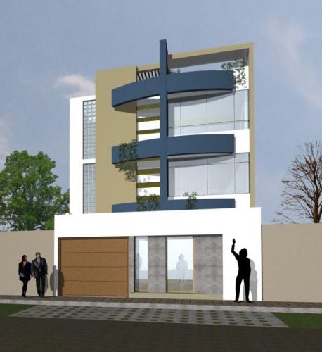 Imagen fachada de edificio for Fachadas contemporaneas de edificios