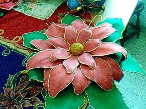 Moldes Para Flores De Navidad En Foami Imagui