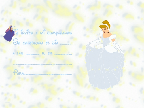 Invitaciónes de cenicienta - Imagui