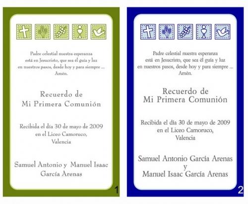Texto invitaciónes comunión - Imagui