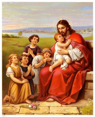 Manière d'Entretenir avec Dieu une conversation continuelle et familière (St. Alphonse de Liguori) Jesus_con_los_ninos_325141_t0