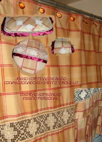 Cortinas De Baño Imagenes: Imágenes de Grupo de Labores y manualidades Juego cortinas de baño