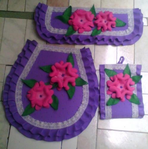 Juegos de lenceria de ba o patrones for Juego de artefactos de bano