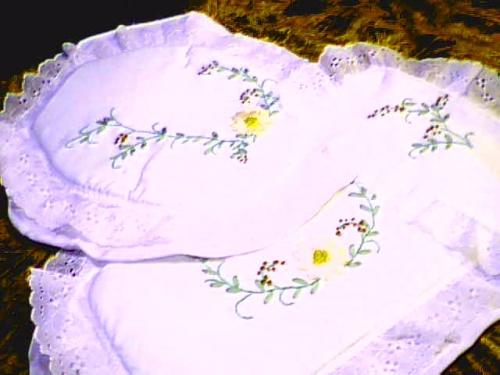 Set De Baño En Cinta:Pin Set De Baños Bordados Juegos De Baño Tela Cintas Encajes