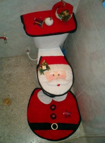 Juegos De Baño Santa Claus:Juegos+De+Santa  de Grupo de Decoración navideña > Juego de Baño
