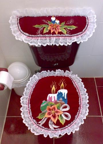 Juego De Baño Navideno A Crochet: Imágenes de Grupo de Decoración navideña Juegos de baño navideños