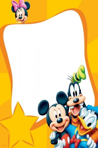 Pin imagenes de marcos infantiles mickey mouse para fotos - Marcos para fotos infantiles ...
