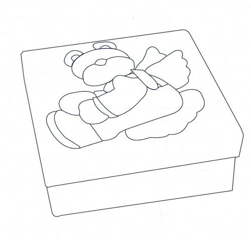 Moldes cajas foami - Imagui