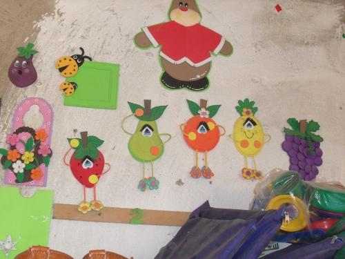 Figuras En Frutas En Foami Imagui