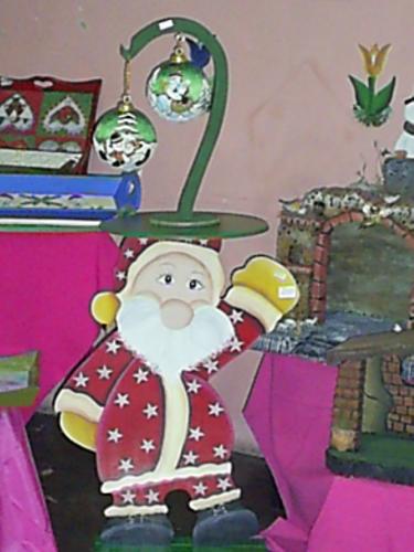 muñeco de san- nicolas  en mdf.