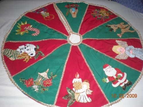Bordados de navidad en cinta imagui - Cintas para arbol de navidad ...