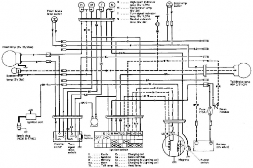 1978 honda xl100 wiring diagram  honda  auto wiring diagram
