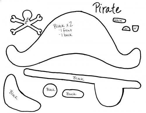 Como hacer un gorro de pirata - Imagui
