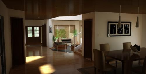 Render Interior - Casa Cardenas