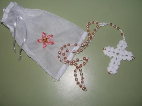 rosario tejido a crochet