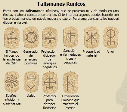 Talismanes rúnicos, por Verónica Guajardo R.