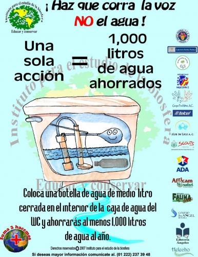 tips para ahorrar el agua