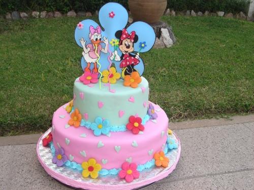 Maquetas para tortas con diseño de Mickey y Minnie baby - Imagui