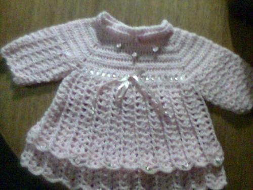 Imagen vestido a crochet - grupos.